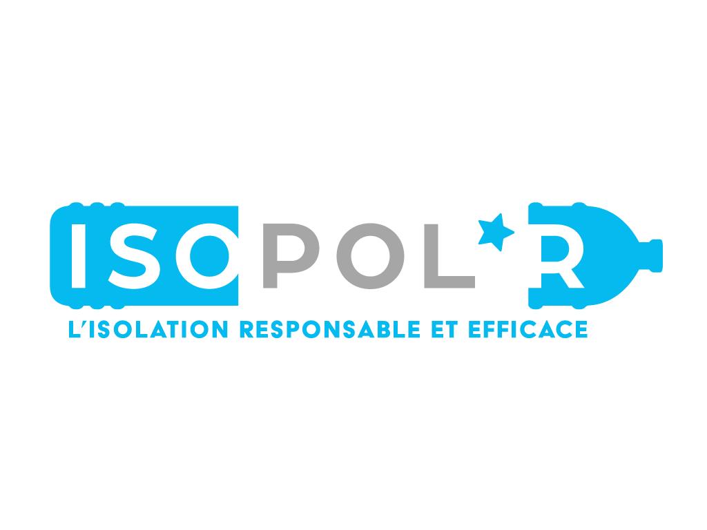 Logo Isopol'R - L'isolation responsable et efficace