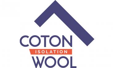 Logo Cotonwool - Isolant laine de coton